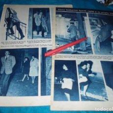 Coleccionismo de Revista Hola: RECORTE : CATHERINE SPAAK, RAPTA A SU PROPIA HIJA. HOLA, ENERO 1964(#). Lote 243208205