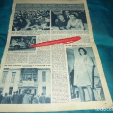 Coleccionismo de Revista Hola: RECORTE : ANN SIDNEY, MISS MUNDO 1964. HOLA, DCMBRE 1964(#). Lote 243208465
