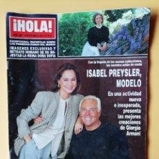Coleccionismo de Revista Hola: ¡HOLA! NÚM. 2.566. 14 DE OCTUBRE 1993 - DIVERSOS AUTORES. Lote 243563220