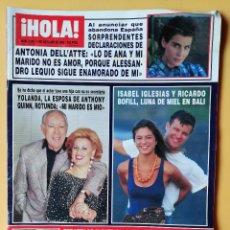 Coleccionismo de Revista Hola: ¡HOLA! NÚM. 2.565. 7 DE OCTUBRE 1993 - DIVERSOS AUTORES. Lote 243563265