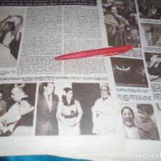 Coleccionismo de Revista Hola: RECORTE : HA MUERTO CARMEN AMAYA. HOLA, NVMBRE 1963(#). Lote 243568165