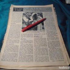 Coleccionismo de Revista Hola: RECORTE : MISS COPO DE NIEVE, ELEGIDA EN GRANADA. HOLA, ENERO 1967(#). Lote 243764970