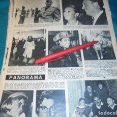 Coleccionismo de Revista Hola: RECORTE : REITA FARIA, MISS MUNDO, EN LONDRES. HOLA, ENERO 1967(#). Lote 243765025