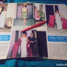 Coleccionismo de Revista Hola: RECORTE : MISS ESPAÑA Y MISS MADRID, EN LA ELECCION DE MISS UNIVERSO . HOLA, JUNIO 1963 (#). Lote 243767195