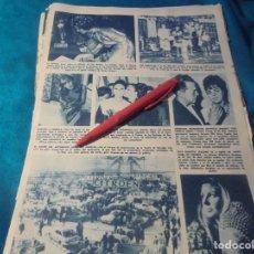 Coleccionismo de Revista Hola: RECORTE : MARISOL A AMERICA. LA MEJOR MANIQUI ESPAÑOLA. HOLA, JUNIO 1963 (#). Lote 243767680