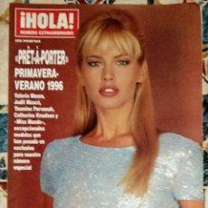 Collectionnisme de Magazine Hola: REVISTA HOLA NÚMERO EXTRAORDINARIO PRET-A-PORTER PRIMAVERA-VERANO 1996. Lote 243862115