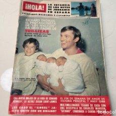 Collectionnisme de Magazine Hola: REVISTA HOLA 1981 CARMEN SEVILLA JEANETTE CANTINFLAS MAYRA GOMEZ KEMP MASSIEL ANGELES CHARLIE. Lote 243904805