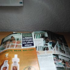 Collectionnisme de Magazine Hola: ESTEFANIA DE MONACO EFICAZ NIÑERA.. Lote 243976705