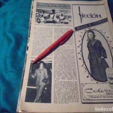 Coleccionismo de Revista Hola: RECORTE : TRIUNFAL RECIBIMIENTO A MISS MUNDO 70, EN SU ISLA ANTILLANA. HOLA, DCMBRE 1970(#). Lote 244478065