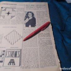 Coleccionismo de Revista Hola: RECORTE : LA CANTANTE FRANCESA NICOLETTA. HOLA, DCMBRE 1970(#). Lote 244478160