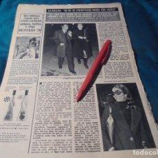 Coleccionismo de Revista Hola: RECORTE : MARIA CALLAS. HOLA, DCMBRE 1970(#). Lote 244478205