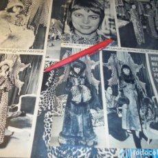 Coleccionismo de Revista Hola: RECORTE : MIRIELLE MATHIEU Y LAS PIELES. HOLA, DCMBRE 1970(#). Lote 244478340