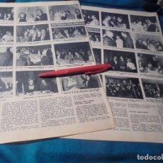 Collectionnisme de Magazine Hola: RECORTE :ENTREGA PREMIO TEATRO MAYTE. LA TUNA. MASSIEL.. HOLA, DCMBRE 1970(#). Lote 244478970