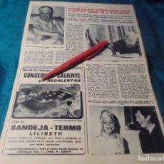 Coleccionismo de Revista Hola: RECORTE : FALLECE NINA RICCI, ALTA COSTURA. HOLA, DCMBRE 1970(#). Lote 244479070