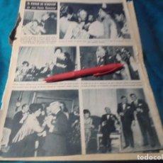 Coleccionismo de Revista Hola: RECORTE : PASTORA IMPERIO, BAILA PARA EL DUQUE DE WINDSOR. HOLA, FBRO 1963(#). Lote 244479240