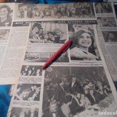 Coleccionismo de Revista Hola: RECORTE : MISS SUECIA, ELEGIDA MISS NACIONES UNIDAS. HOLA, FBRO 1963(#). Lote 244479450