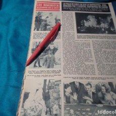 Collectionnisme de Magazine Hola: RECORTE : LOS DOMINGUIN SE DIVIERTEN EN LA NIEVE. MIGUEL BOSÉ. HOLA, FBRO 1963(#). Lote 244479530