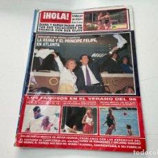 Collectionnisme de Magazine Hola: REVISTA HOLA AGOSTO 1996 MIGUEL BOSE SINATRA MARTA SANCHEZ STALLONE ANA OBREGON MARIBEL VERDU ATLANT. Lote 244598095