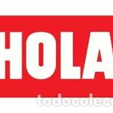 Coleccionismo de Revista Hola: REVISTA HOLA-NUMEROS EXTRAORDINARIOS DE MODA-SEGÚN RELACION. Lote 244624115