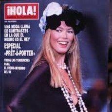 Coleccionismo de Revista Hola: REVISTA HOLA-NUMERO EXTRAORDINARIO DE LA MODA-ESPECIAL PRET A PORTER-OTOÑO INVIERNO 1993. Lote 244624490