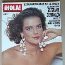 Coleccionismo de Revista Hola: REVISTA HOLA-NUMERO EXTRAORDINARIO DE LA MODA-ESTEFANIA DE MONACO-PRIMAVERA VERANO 1990. Lote 244624690