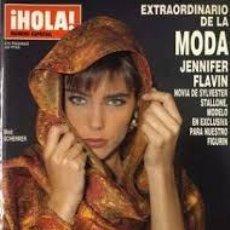 Coleccionismo de Revista Hola: REVISTA HOLA-NUMERO EXTRAORDINARIO DE LA MODA-JENNIFER FLAVIN-OTOÑO INVIERNO 1990. Lote 244624895