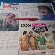 Coleccionismo de Revista Hola: RECORTE : KAREN GRASSLE, LA SEÑORA INGALLS, DE LA CASA DE LA PRADERA. HOLA, JUNIO 1978(#). Lote 244711075