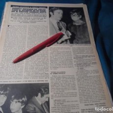 Coleccionismo de Revista Hola: RECORTE : AUDREY HEPBURN, PIDE DIVORCIO. HOLA, JUNIO 1978(#). Lote 244711165