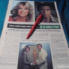 Coleccionismo de Revista Hola: RECORTE : FARRAH FAWCETT Y LEE MAJORS. HOLA, JUNIO 1978(#). Lote 244711330