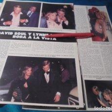 Coleccionismo de Revista Hola: RECORTE : DAVID SOUL, PROXIMA BODA. HOLA, JUNIO 1978(#). Lote 244711410