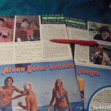 Coleccionismo de Revista Hola: RECORTE : ANA ANGUITA, GRABA DISCO. HOLA, JUNIO 1978(#). Lote 244711510