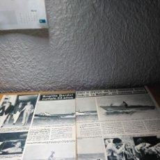 Coleccionismo de Revista Hola: BRIGUITE BARDOT CUMPLE 33 AÑOS . HOLA 7.10.67. Lote 244724675