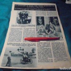 Coleccionismo de Revista Hola: RECORTE : CENTENARIO DE HENRY FORD, REALIZADOR DEL AUTOMOVIL PARA TODOS. HOLA, AGTO 1963 (#). Lote 244725345