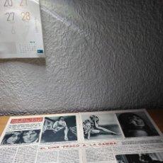Coleccionismo de Revista Hola: JEAN SHRIMPTON LA GAMBA . HOLA 30.9.67. Lote 244725595