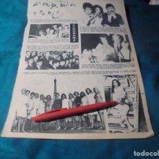 Coleccionismo de Revista Hola: RECORTE : MISSES RUMBO A MIAMI PARA ELECCION DE MISS MUNDO. HOLA, JULIO 1966 (#). Lote 244725925