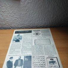 Coleccionismo de Revista Hola: MARISOL CABRIOLA . HOLA 9.1.65. Lote 244728215