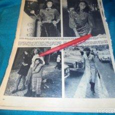 Coleccionismo de Revista Hola: RECORTE : FLORINDA BOLKAN. AUDREY HEPBURN. SYLVA KOSCINA. HOLA, ABRIL 1971(#). Lote 244729520