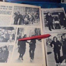 Coleccionismo de Revista Hola: RECORTE : ROMINA POWER Y AL BANO EN NUEVA YORK. HOLA, ABRIL 1971(#). Lote 244729640