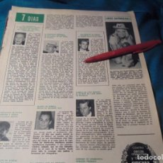 Coleccionismo de Revista Hola: RECORTE : EX MISS MUNDO, ES AHORA MISS NATURALEZA. HOLA, ABRIL 1971(#). Lote 244729755