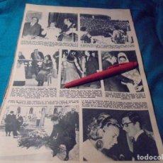 Coleccionismo de Revista Hola: RECORTE : HOMENAJE A KARINA EN JAEN. MAJA DE BALEARES. HOLA, ABRIL 1971(#). Lote 244730145