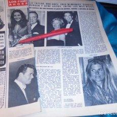 Coleccionismo de Revista Hola: RECORTE : LIZ TAYLOR. HOLA, ABRIL 1971(#). Lote 244730365