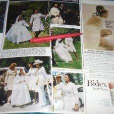 Coleccionismo de Revista Hola: RECORTE : PRIMERA COMUNION DE LA HIJA MENOR DE LOLA FLORES. HOLA, MAYO 1972 (#). Lote 244991760