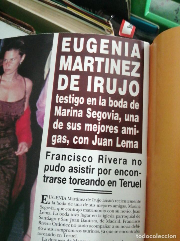 Coleccionismo de Revista Hola: Año 1998 2816 Adolfo Suárez Jaime Marichalar rey Juan Carlos Daniel Ducruet Eugenia Martínez Irujo - Foto 7 - 245210050