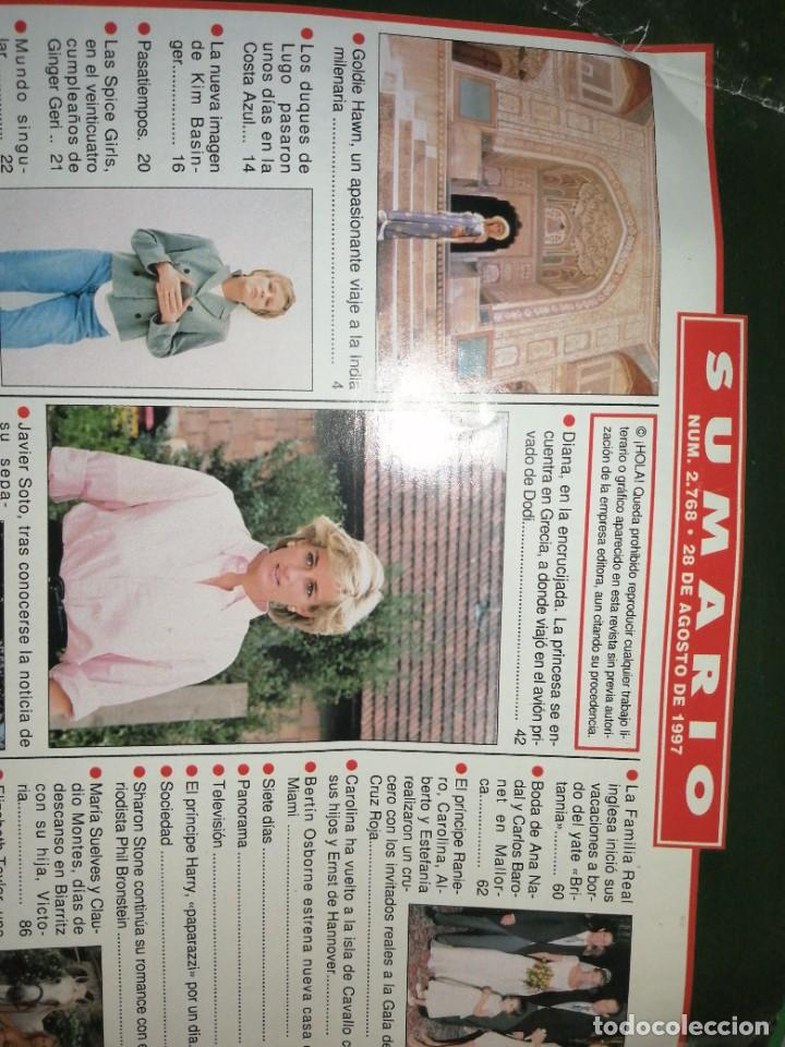 Coleccionismo de Revista Hola: Año 1997 2768 Spice Girls Elvis Presley Javier Soto Emilio Aragon Paulina Rubio Kim Basinger - Foto 2 - 245229605