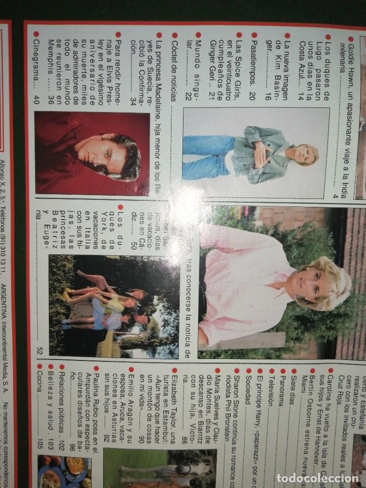 Coleccionismo de Revista Hola: Año 1997 2768 Spice Girls Elvis Presley Javier Soto Emilio Aragon Paulina Rubio Kim Basinger - Foto 3 - 245229605