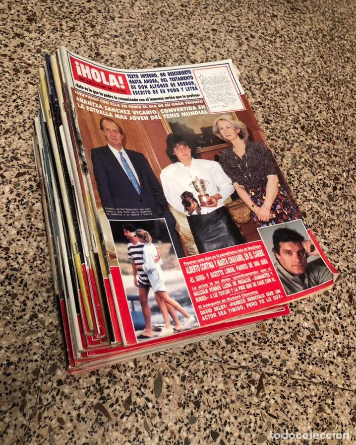 31 REVISTAS HOLA DESDE AÑOS 1989-1993. EN PERFECTO ESTADO. (Coleccionismo - Revistas y Periódicos Modernos (a partir de 1.940) - Revista Hola)