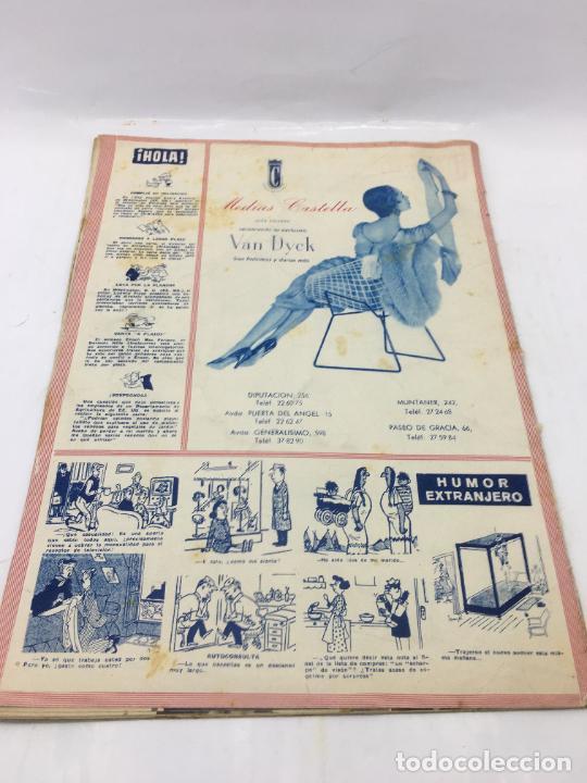 Coleccionismo de Revista Hola: ¡HOLA! - Nº 606 DEL 7 DE ABRIL DE 1956 - GRACE KELLY PREPARA SU EQUIPO DE NOVIA - ORGANIZACION BODA - Foto 3 - 245250570