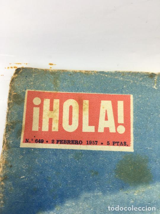 Coleccionismo de Revista Hola: ¡HOLA! - Nº 649 DEL 2 -02-1957 - NACIMIENTO DE PRINCESA CAROLINA DE MONACO - ALBUM DE LA VIDA DE LOS - Foto 2 - 245254085