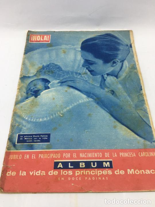 ¡HOLA! - Nº 649 DEL 2 -02-1957 - NACIMIENTO DE PRINCESA CAROLINA DE MONACO - ALBUM DE LA VIDA DE LOS (Coleccionismo - Revistas y Periódicos Modernos (a partir de 1.940) - Revista Hola)