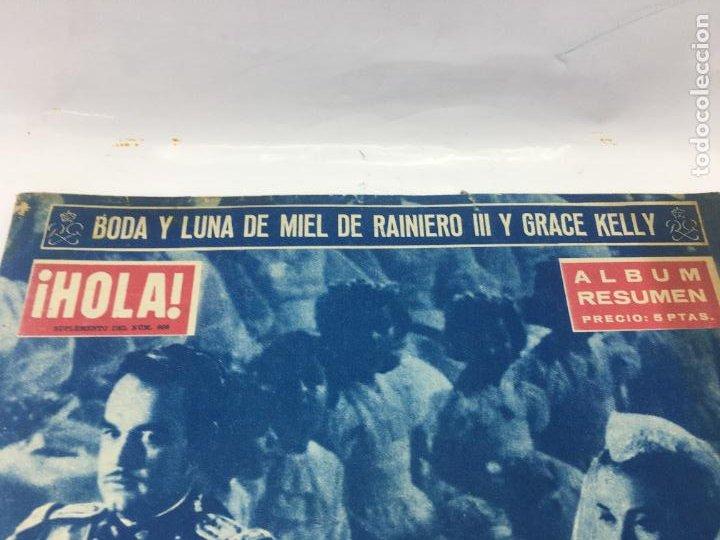Coleccionismo de Revista Hola: ¡HOLA! - SUPLEMENTO DEL NUM. 608 - BODA Y LUNA DE MIEL DE RAINIERO III Y GRACE KELLY - Foto 3 - 245257010